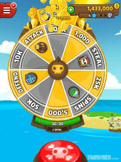 Pirate Kings một game siêu hot trên Facebook3