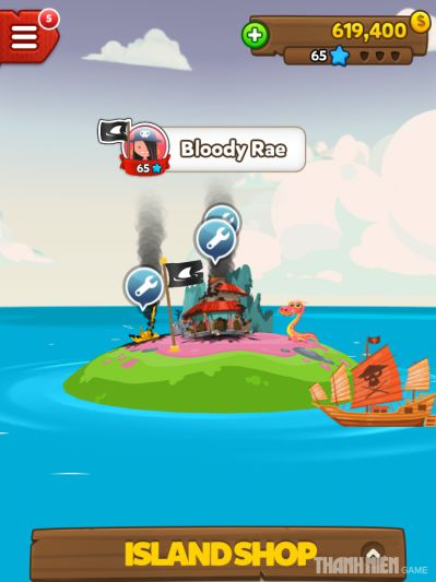 Pirate Kings một game siêu hot trên Facebook2