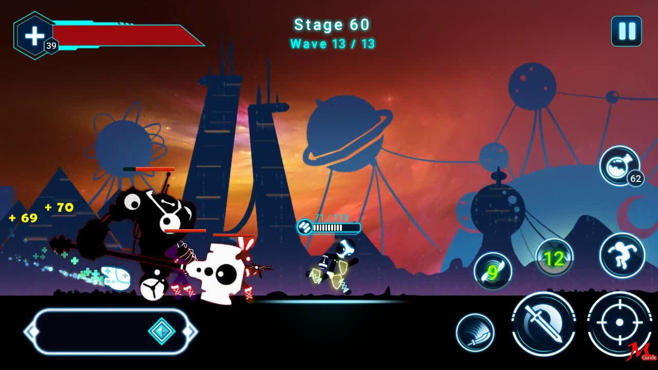 Hack game Stickman Ghost 2: Star Wars cho Android không cần root (2)