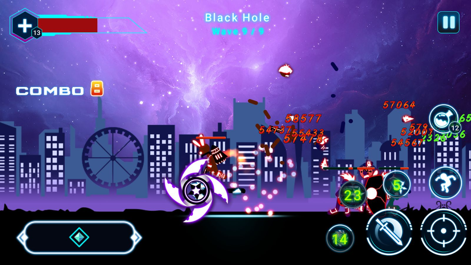 Hack game Stickman Ghost 2: Star Wars cho Android không cần root (3)